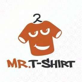 Exclusive Customizable Logo For Sale: Mr. T-shirt | StockLogos.com https://stocklogos.com/logo/mr-t-shirt