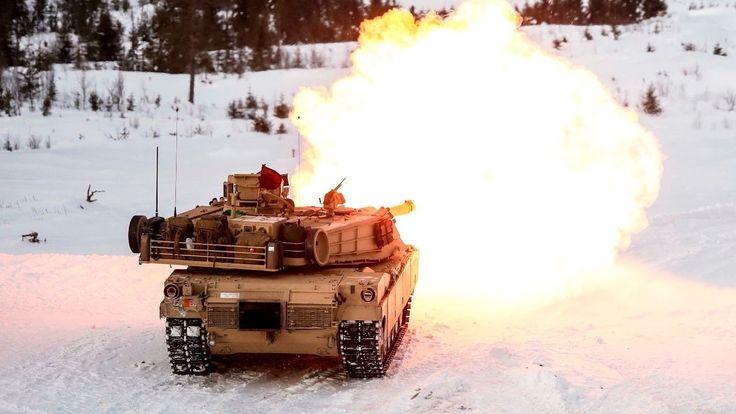 (NEWS) US German Poland Demark Tanks Roar near Russia Boder- Poland Exce...