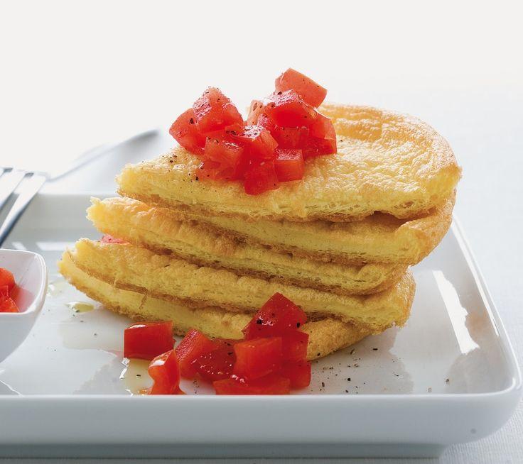 Frittata soufflé ai pomodori