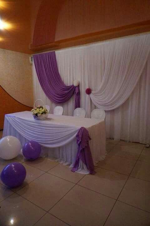 Ideas para decorar fiestas y eventos con telas - Decorar muebles con tela ...
