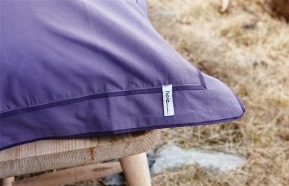 Mykt sengetøy i fine farger. Må ikke være lilla, så klart! :)