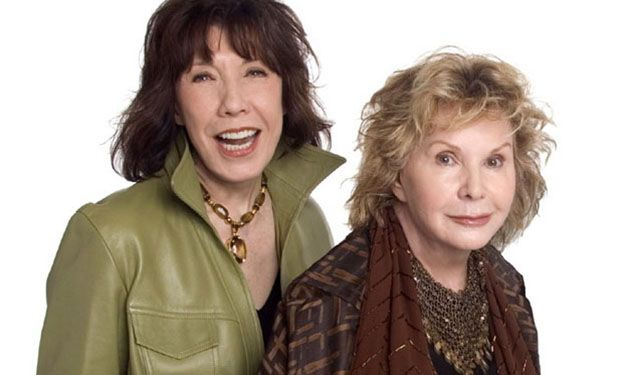 Lily Tomlin and her love, the writer Jane Wagner, got married on the eve of 2014. ..after being together 42 years