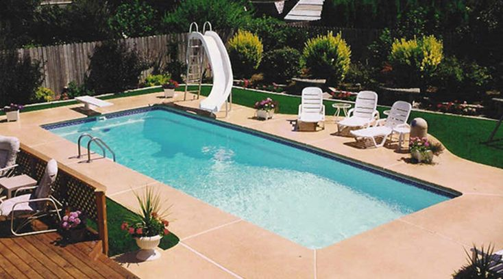 Inground Fiberglass Pools With Diving Board Google Search Pool Pinterest Pools Search