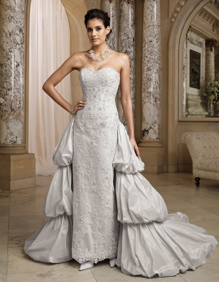 grey wedding dress david tutera light grey wedding gown for mon cheri 4624