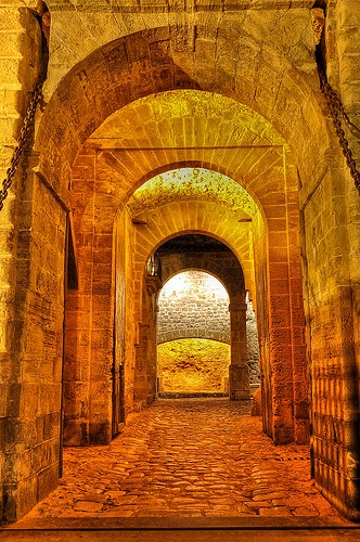 Portal de Ses Taules. Dalt Vila. Ibiza