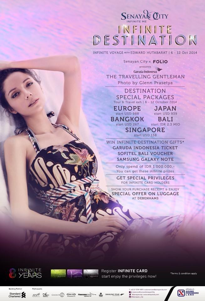 Visit Smailing Tour Booth at INFINITE DESTINATION - Senayan City 6 - 12 October 2014