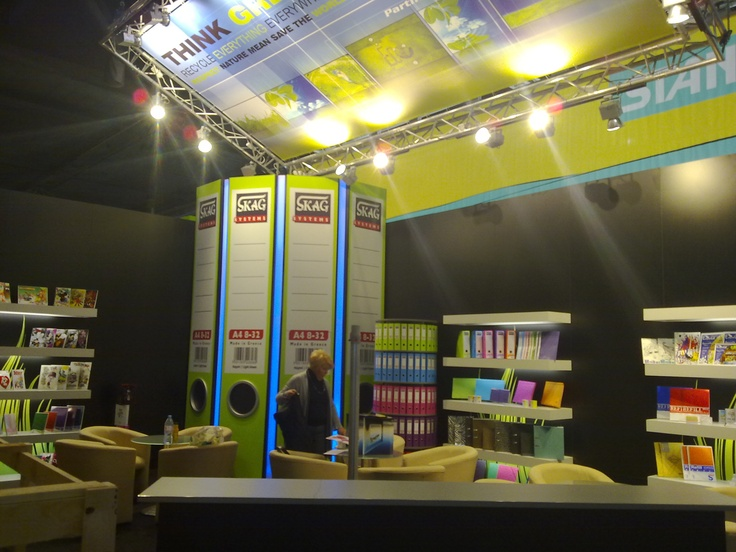 Paperworld exhibition 2012, Frankfurt, Germany