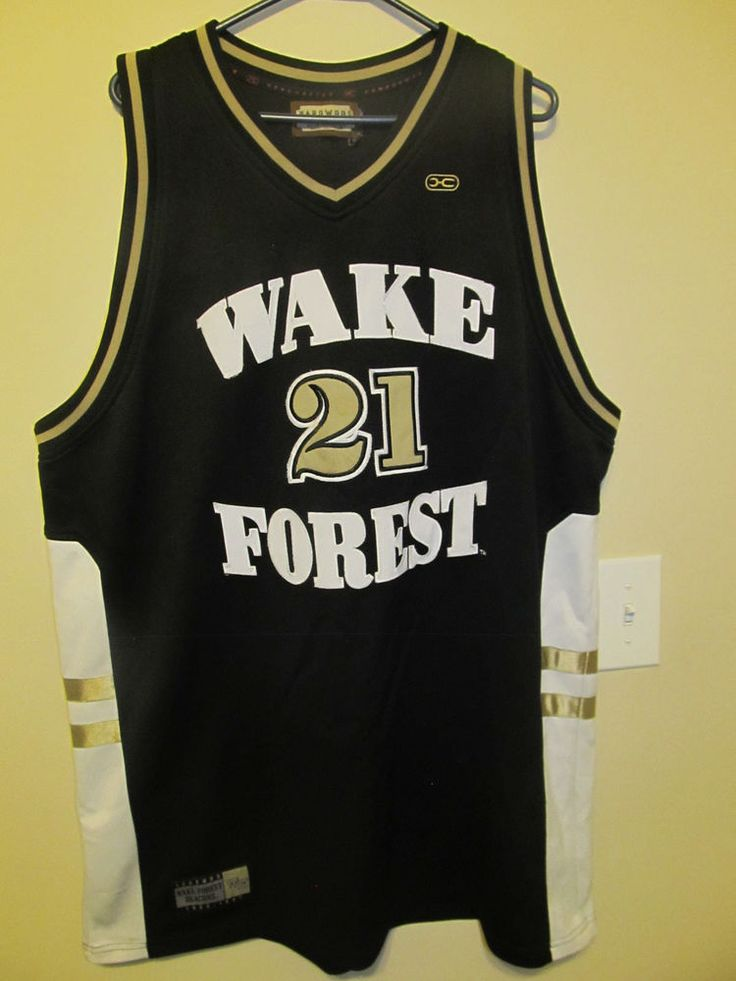 Tim Duncan - Wake Forest Demon Deacons basketball jersey - Legends Adult 56 #HardwoodLegends #WakeForestDemonDeacons