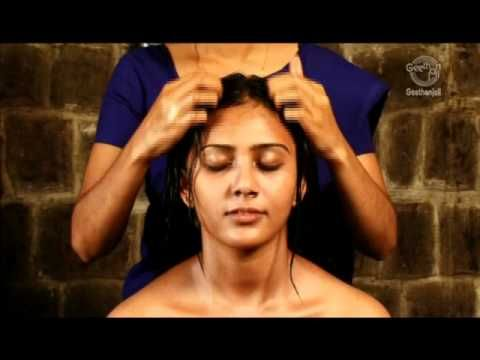 Grow long and healthy hair- scalp massage routine. Ayurvedic Indian Head Massage