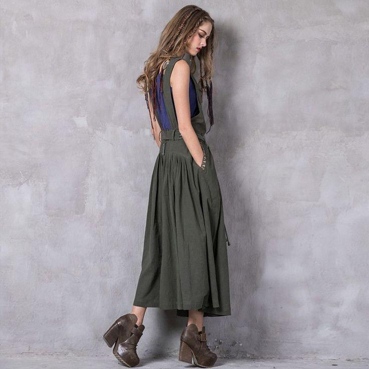 Sleeveless Dress With Slash Neck