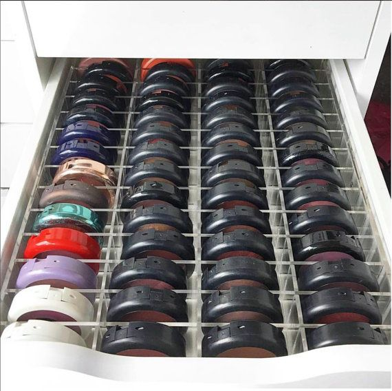 Acryl make-up organisator Alex 56 compartiment lade scheidingslijn opslag