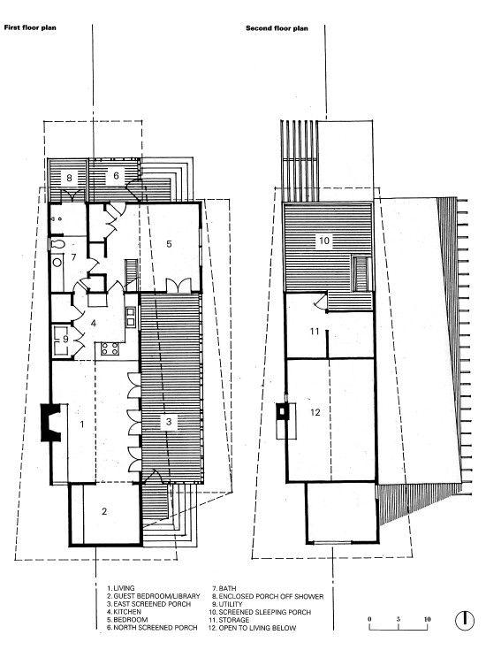 Mockebee Coker Kennedy House plan drawings