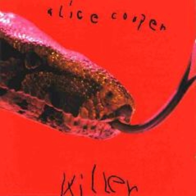 Killer, one of the very first albums of Alice Cooper, great american rock from the early 70's with a great cover!