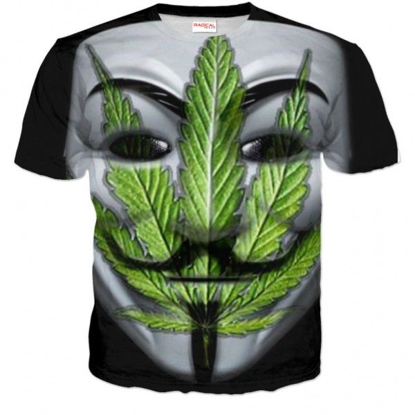 ANONYMOUS SMOKERS T-shirt Full Print 3D - Show All Products - Store - Shop by...