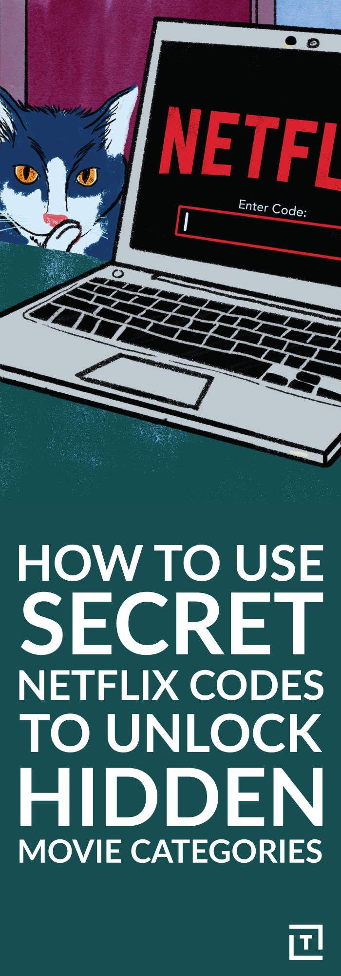 How to use secret Netflix codes to unlock hidden movie categories