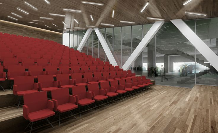 SYAA | Port Offices www.syaa.ro #office #building #port #harbor #Constanta #architecture  #conference #room #3D #rendering