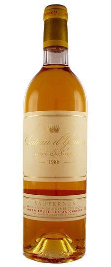 Chateau d'Yquem, Sauternes.  Un grand liquoreux, à faire vieillir, et à déguster dans les traditions : foie gras, poularde de brosse, et roquefort ... Du bonheur...