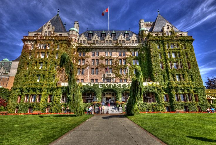 The Empress Hotel (via Pinterest)