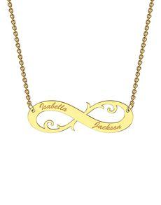 MeMi: MeMi  Infinity Personalised Necklace!