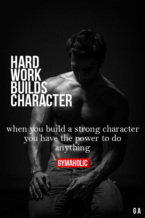 Hard Work Builds Character Fitness Revolution -> http://www.gymaholic.co/ #fit #fitness #fitblr #fitspo #motivation #gym #gymaholic #workouts #nutrition #supplements #muscles #healthy