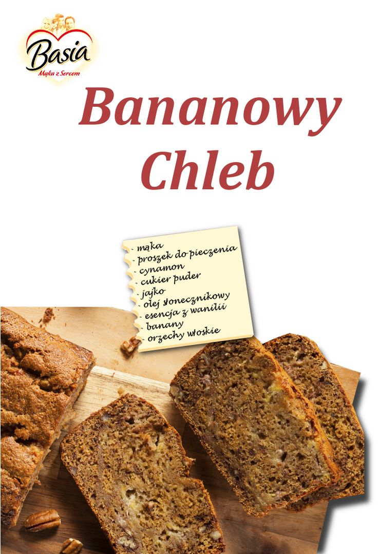 Bananowy chleb: http://on.fb.me/1weXtnv