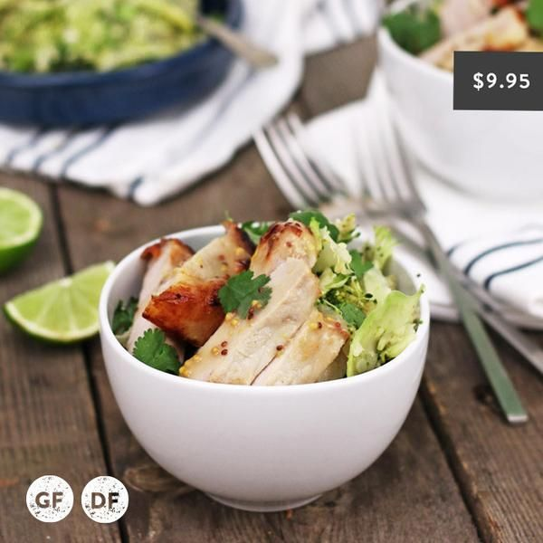 YouFoodz | Lean Pork with Shredded Greens $9.95 | Now, we're not talking some boring old greens…this mix of broccoli and cauliflower will blow your tastebuds away! Pair it with tender pork, a drizzle of honey mustard dressing and you have yourself a guilt-free winner | #Youfoodz #HomeDelivery #YoullNeverEatFrozenAgain