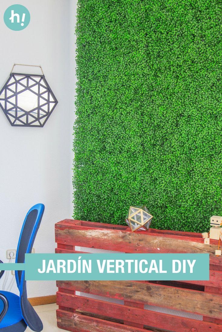 jardn vertical artificial transforma una pared por completo instalando un jardn vertical artificial
