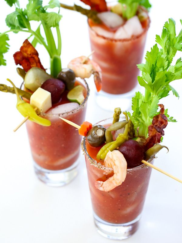 The Best Bloody Mary Recipe and Make Your Own Bloody Mary Bar | Recipe