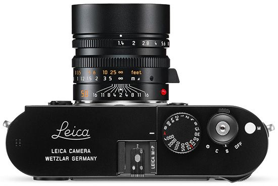 Leica M-P 240 (Top)