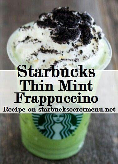 Starbucks thin mint frappichino copycat