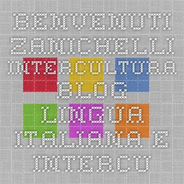 Benvenuti Zanichelli - Intercultura blog - Lingua italiana e intercultura » Blog Archive » Il condizionale passato