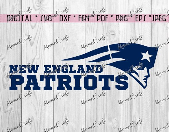 SVG PATRIOTS New ENGLAND logo digital vector by MamaCraft4You