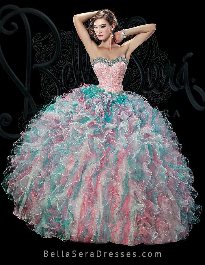 32 Best Quinceanera Dresses Bella Sera 2015 Images On