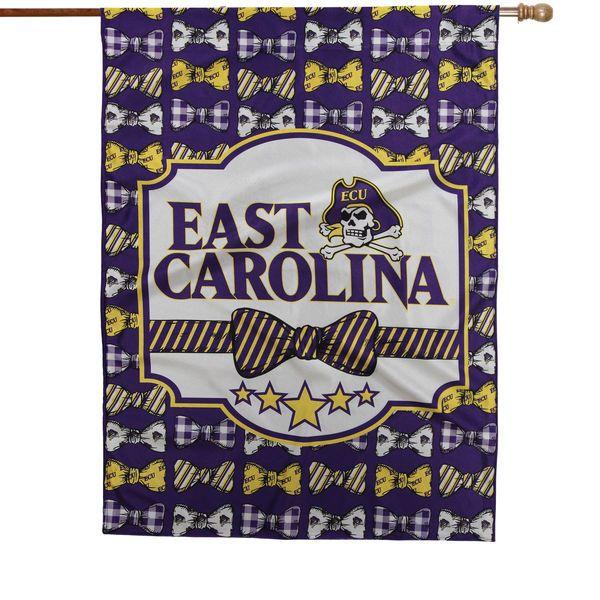 """East Carolina Pirates 28"""" x 40"""" Bowtie Design House Flag - $36.99"""