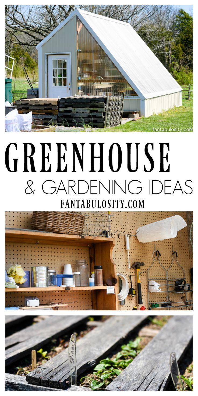 Greenhouse Gardening Ideas U0026 DIY Tips