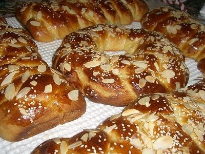 Tsoureki (greek sweet bread) is my absolute favorite. I think I need to 'grow up' and make my own this year!
