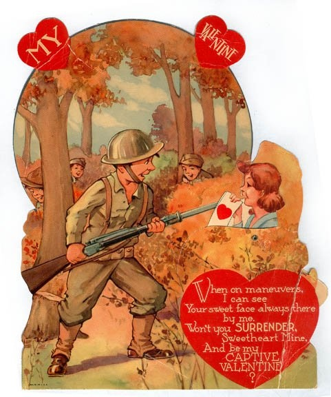 297 best images about St Valentines Day Vintage Cards on – St Valentine Cards