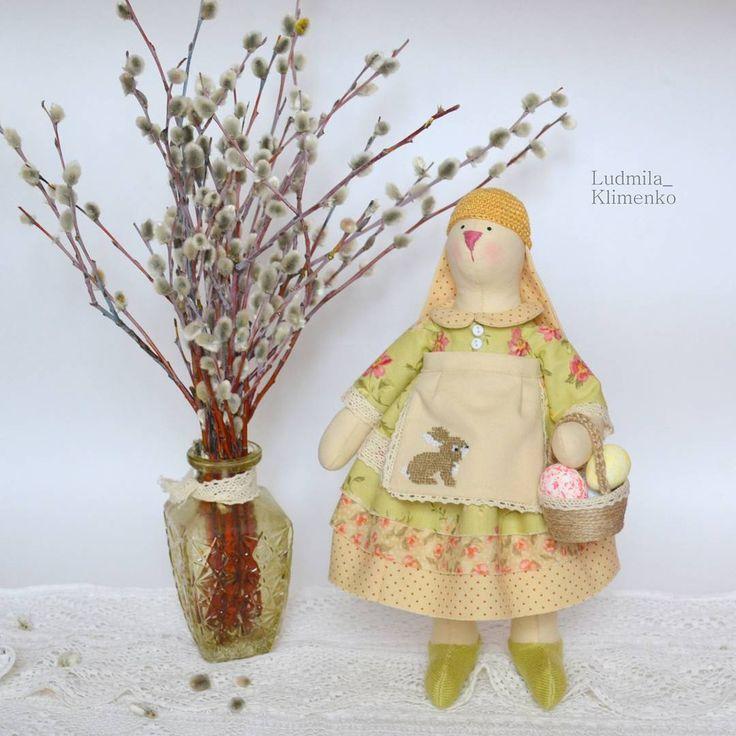Пасхальная зайка. #заяц#зайка#bunny #rabbit #Easter #Пасха #пасхальныйкролик