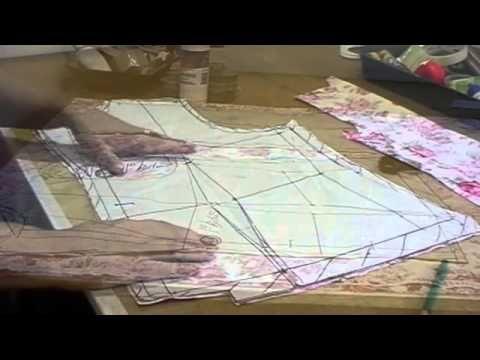 Blazer Tecido - Corte no tecido e entretelas - YouTube