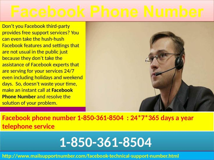 Of course, dialling our Facebook Phone Number -1-850-361-8504 will definitely wipe out your Facebook issues from the root as your call will be attended by our top most dexterous technicians who are well aware about every type of Facebook problems as well as their solutions. So, what are you looking up for? Stay connected with us. For More Information on My Site: http://www.mailsupportnumber.com/facebook-technical-support-number.html