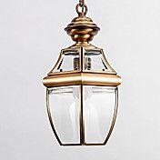 European-Style Retro 1 Light Pendant with Tra... – AUD $ 144.32