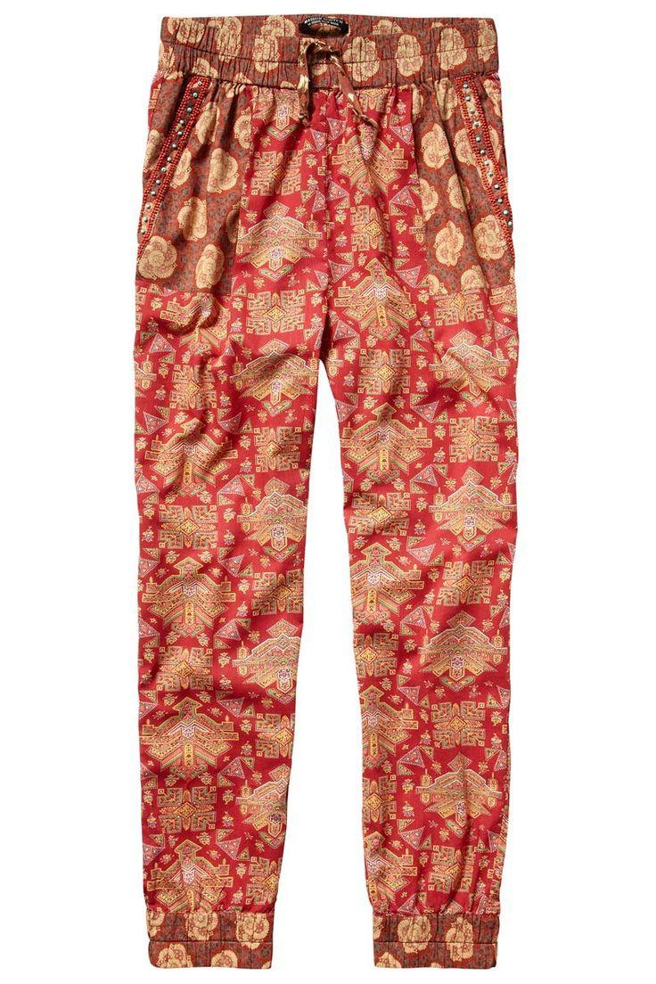 Shopping dress for less pantalones estampados: De inspiración retro de Maison Scotch