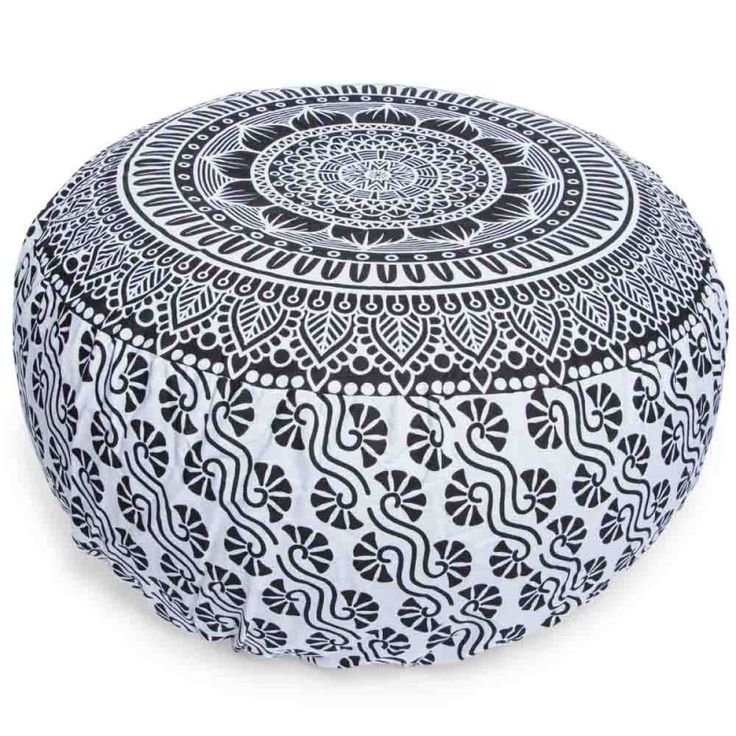 inflatable printed ottoman cover 23in x 10in  | Five Below