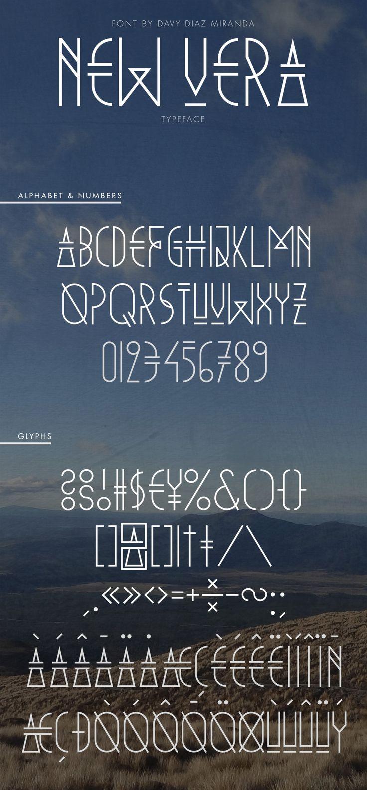 New Vera OpenType 811 best V Letters