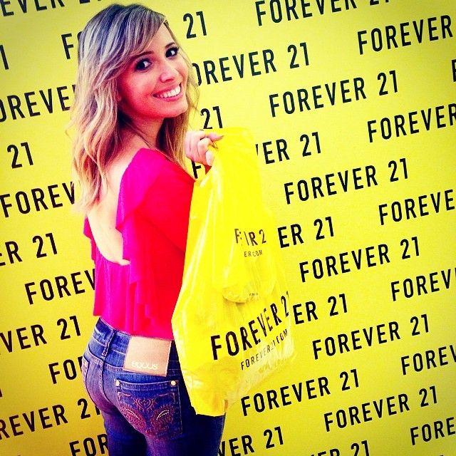 Quase nem amei né?? Obrigada pelo convite @forever21_brasil ❤️ | Use Instagram online! Websta is the Best Instagram Web Viewer!