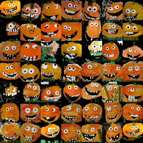 kinder pumpkins