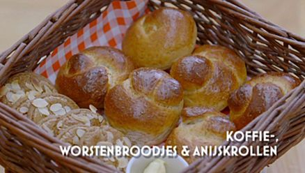 Heel Holland Bakt: Koffiebroodjes, worstenbroodjes, anijskrollen en speculaasjes