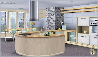 The sims 3 object sets audacis kitchen set custom content for Kitchen set sims 4
