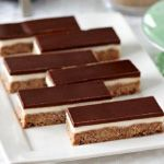 Dark Chocolate Peppermint Slice » Recipes » Cadbury Kitchen love the coconut/choc base of this one - could use it for other slices!