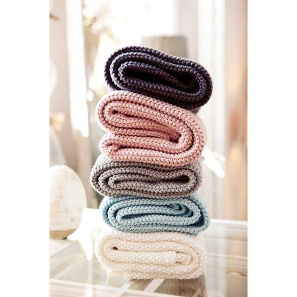 Duży Koc COCO LARGE, bawełniany, z włoskiej przędzy (kolor do wyboru)